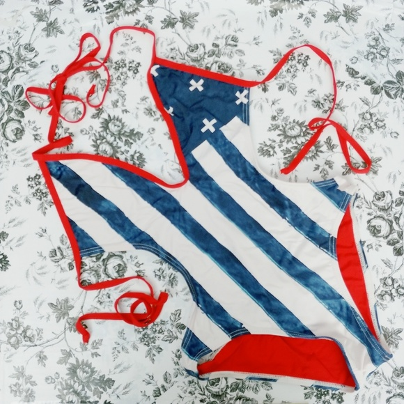 2aede8edbb4 Tavik Swim | American 4th Of July One Piece Suit | Poshmark